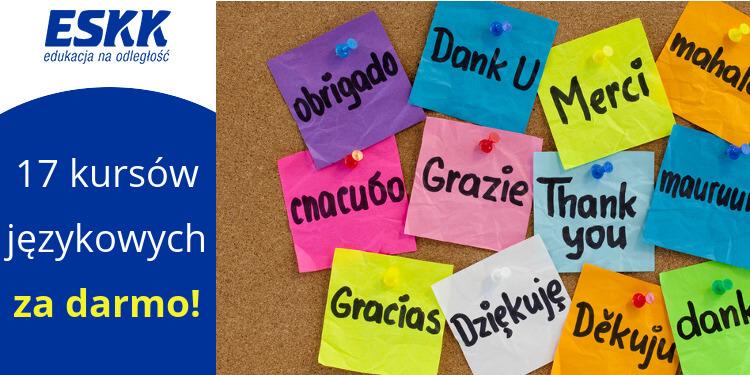 Naucz się obcych języków z ESKK