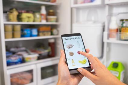 kupowanie jedzenia przez internet
