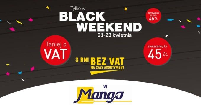 Black Weekend w Mango!