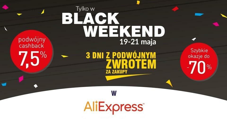 Black Weekend z AliExpress