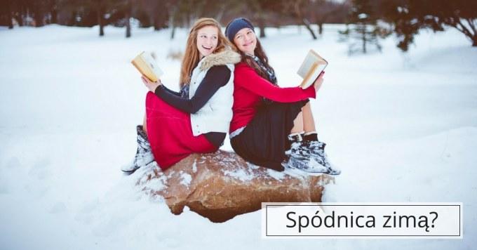 Ciepłe spódnice na zimowe spacery