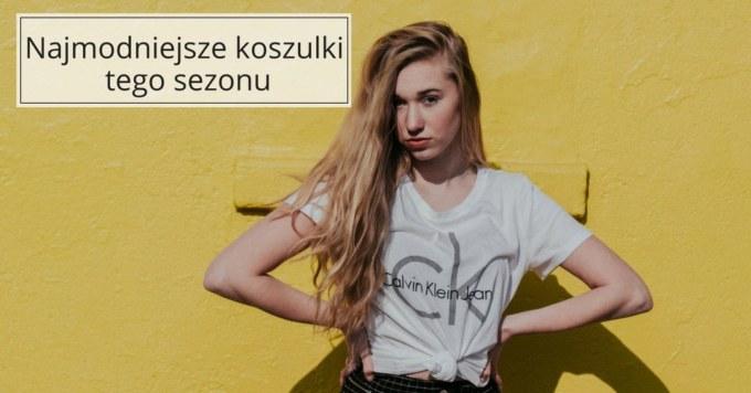 20 t-shirtów i topów, z którymi wyczarujesz modne zestawy na różne okazje