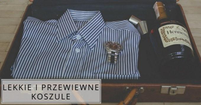 Koszule dla mężczyzn na lato – jaki materiał?