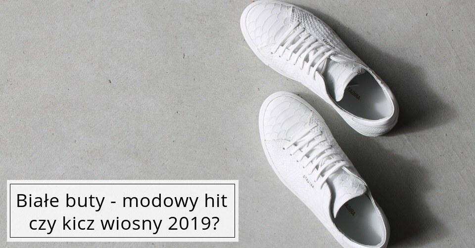Białe buty – kit czy hit