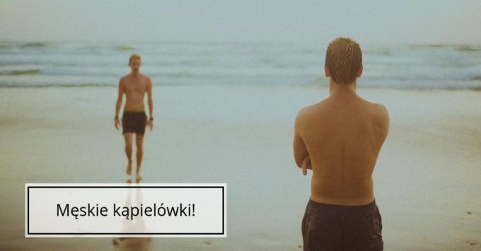 Kąpielówki męskie – jakie wybrać?
