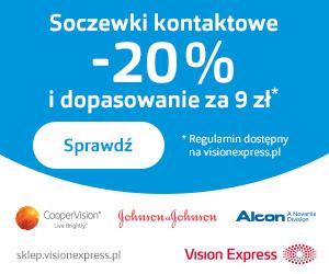 Vision Express: soczewki -20%