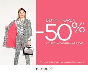 -50% na buty i torebki!