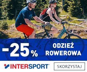 Odzież na rower -25% taniej!