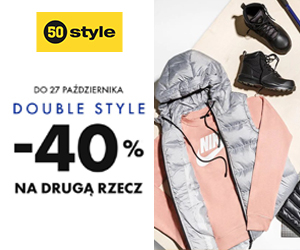Double Style -40%!