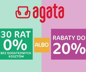 Rabaty do 20% w Agata!