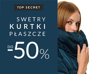 Kurtki i swetry -50%!
