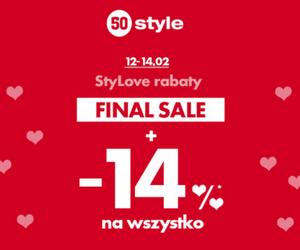 50 style: Walentynkowe rabaty