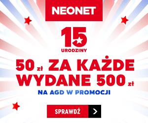Zgarnij 50 zł w Neonet!