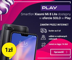 Xiaomi Mi 8 Lite za 1 zł!