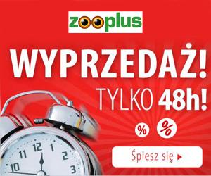 Wyprzedaż w Zooplus!