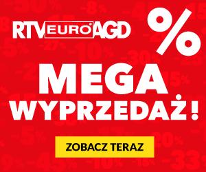 Megawyprzedaż w RTV EURO AGD!
