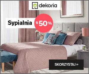 Dekoria - sypialnia do -50%