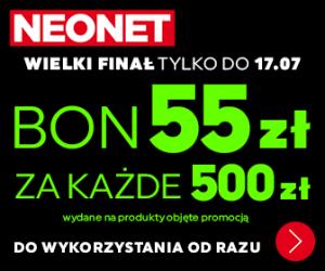 55 zł za każde wydane 500 zł!