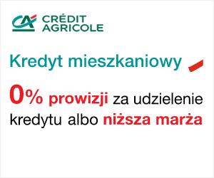Credit Agricole: kredyt mieszkaniowy