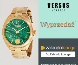 Zalando Lounge - wyprzedaż zegarków Versus Versace