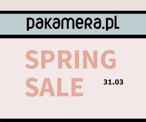 Pakamera: wiosenne zniżki!