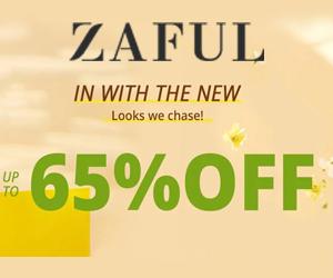 Zniżki do -65% od Zaful