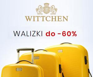 Walizki do -60% W Wittchen!