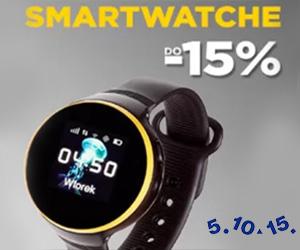 Smartwatch -15% taniej!