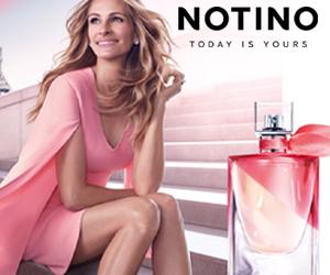 Promocja na perfumy w Notino!