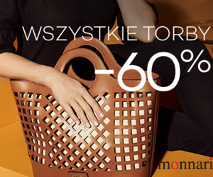 Torebki i buty -60% w Monnari!