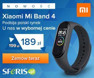 Xiaomi Mi Band 4 w promocji!