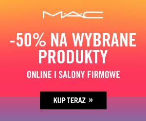 M.A.C Cosmetics do -50% taniej!