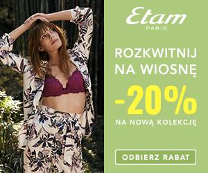 -20% na wiosnę w Etam!