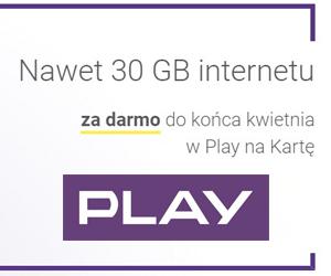 Łap 30 GB internetu!