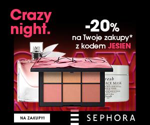 Rabat -20% na Twoje zakupy w Sephora