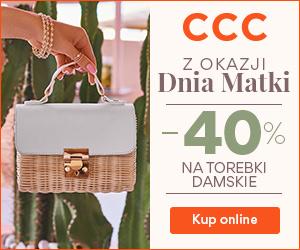 Torebki -40% w CCC!