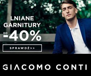 Lniane garnitury taniej do -40%!