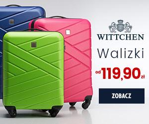 Walizki od 119 zł w Wittchen!