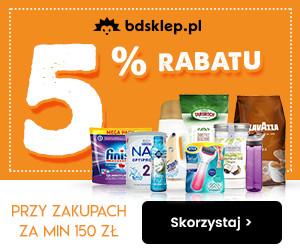 Rabat -5%  w BDsklep!