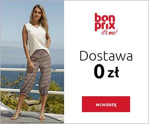 Darmowa dostawa w BonPrix!