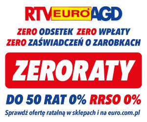 RTV EURO AGD: raty 0%