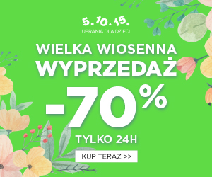 Wiosenny outlet -70%!