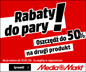 Nawet do -50% w Media Markt!
