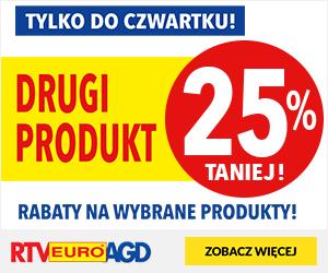 Drugi produkt 25% taniej!