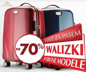 Wyprzedaż walizek w  Wittchen!