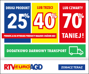 Promocja w RTV EURO AGD!