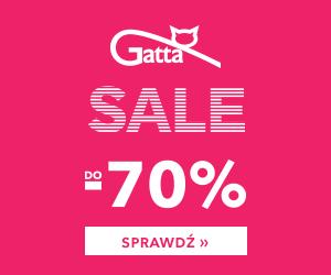 Gatta - wyprzedaż do 70%
