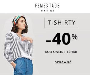 -40% rabatu na t-shirty!