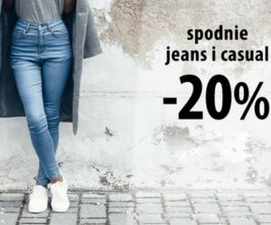 Spodnie jeans i casual - 20%