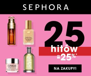 Sephora rabaty do -25%!